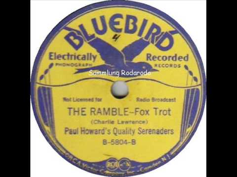 The Ramble   Paul Howards Quality Serenaders