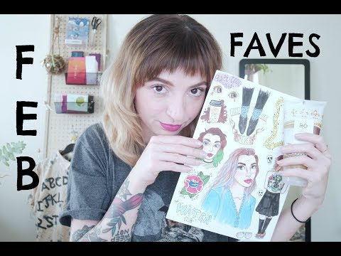 My February Favorites! Convention, Zines, Broken glass & Axe throwing