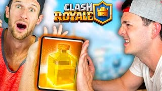 IT MAKES YOU LOSE! HEAL DRAFT Challenge vs MOLT - Clash Royale