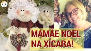 MAMÃE NOEL NA XÍCARA – BONECA NA CANECA
