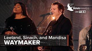 Sinach ft. Mandisa, Leeland, and Maverick City   Way Maker   Dove Awards 2020