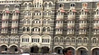 Outside view of The Taj Mahal Palace Hotel- Mumbai