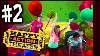 Happy Action Theater  - #2 - Joey Graceffa Missglamorazzi Jason Munday - Xbox 360 Kinect