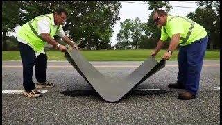самые невероятные технологии по укладке и ремонту дорог