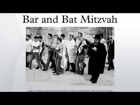 Bar and Bat Mitzvah