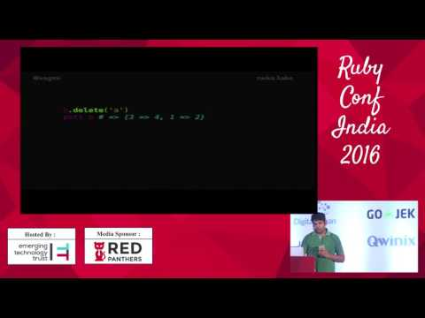 Rubyconf India 2016 - Statically typed Ruby