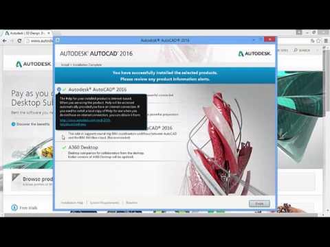AutoCAD 2016 Kurulumu Nasıl Yapılır?