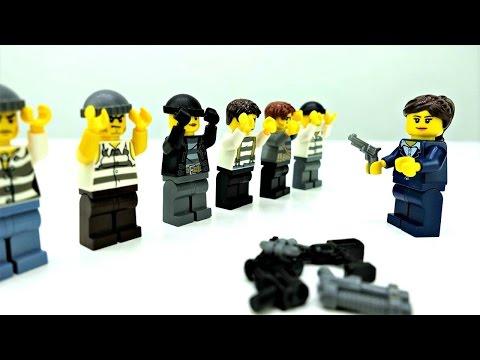 Играем с Лего сити Полиция. Мультики с игрушками Лего