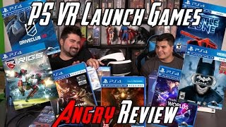PS VR Launch Games Angry Review
