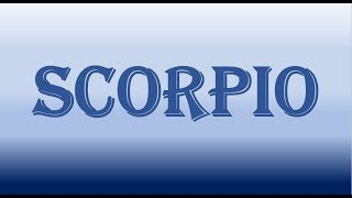 SCORPIO~THIS PERSON WILL NOT GIVE YOU UP WITHOUT A FIGHT~FEB 27-28