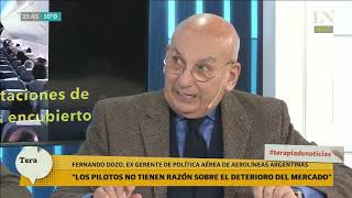 Un exejecutivo de Aerolíneas destruyó a Pablo Biró: