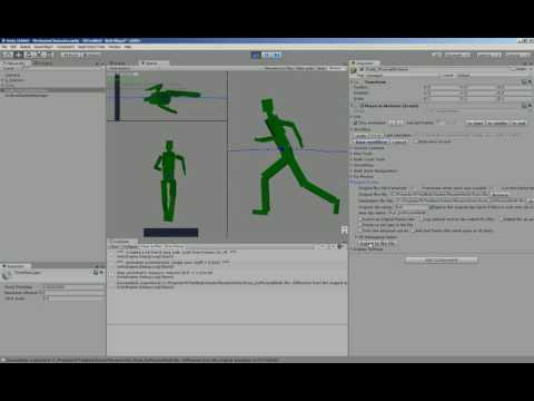 Tutorial 3 - Physical Walk - Walk-cycle extraction