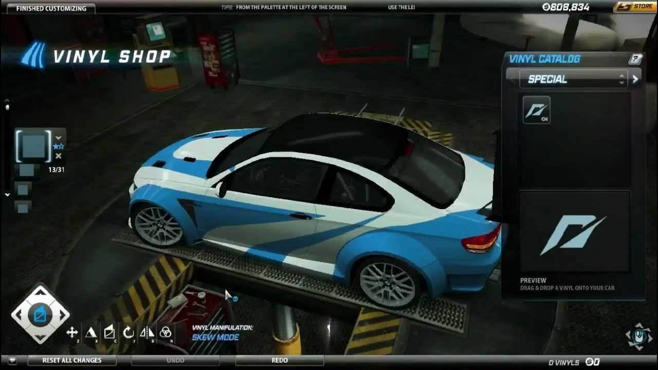 Nfs World Bmw M3 Gtr Most Wanted Vinyls Short Tutorial On M3 E92 Gts Youtube