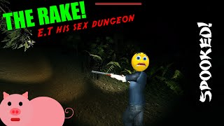 The Rake Multiplayer / Funny moments / E.T's sex dungeon....