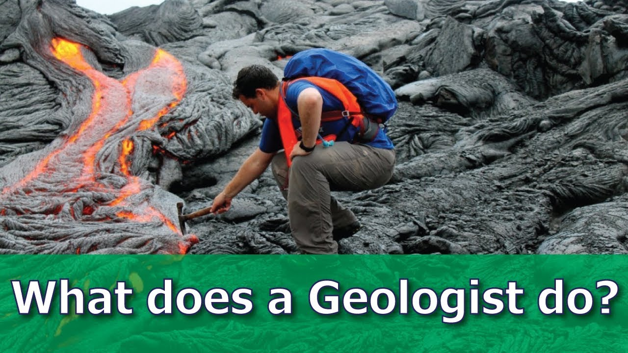 What Does A Geologist Do Video For Kids