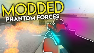MODDED PHANTOM FORCES..... (roblox)