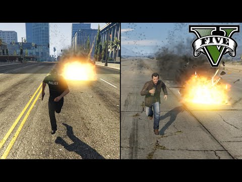 Is It Possible To Outrun A Proximity Mine? (GTA V)