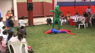 Sonrisas show-Show del Hombre Araña
