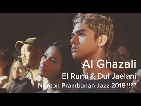 Al Ghazali Nonton Prambanan Jazz !!?? #prambananjazz2018
