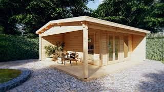 Diy Log Cabin Garden Studio Xl