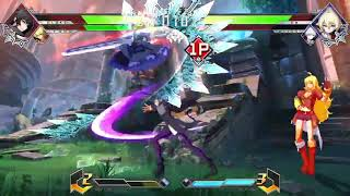 BlazBlue Cross Tag Battle clip #6