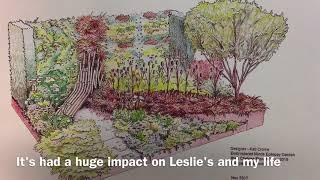 Embroidered Minds Epilepsy Garden - RHS Chelsea Flower Show 2018