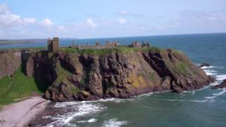 Dunnottar Castle Stonehaven North East Coast Scotland May 19th