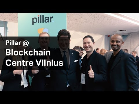 Pillar Project @ Launch of Blockchain Centre Vilnius
