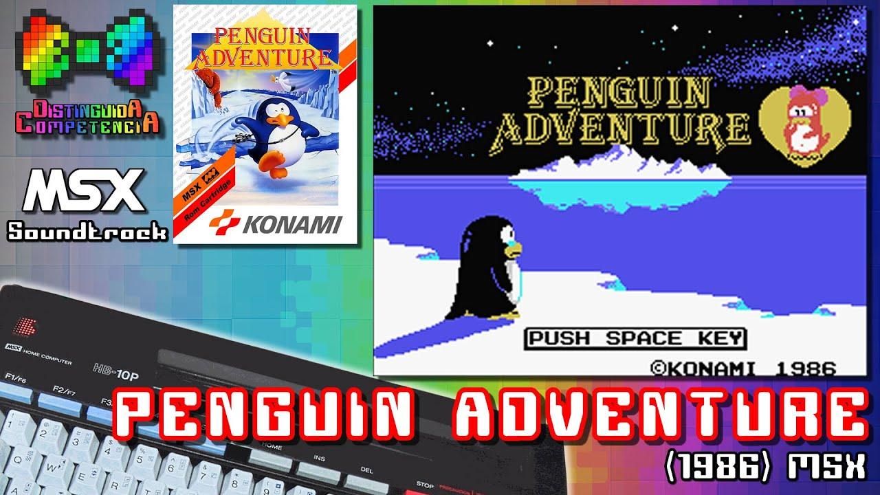 Penguin Adventure (Ascii)(1986) MSX Music Soundtrack (Sasaki/Matsubara)    Distinguida Competencia