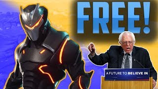 Free Fortnite Skins for All! (Fortnite Battle Royale Funny Moments)