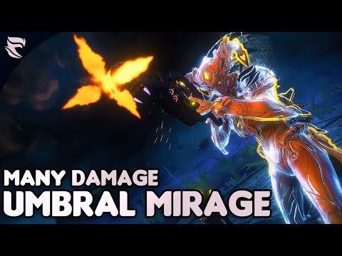 Warframe: Umbral Mirage Insane Damage Buffs thumbnail