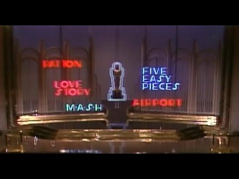 The Opening of the Academy Awards in 1971