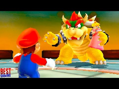 Super Mario 3D Land Walkthrough - World 8 100% Guide (Every Star Coin and Gold Flag Pole)