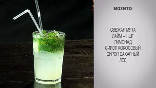 Мохито / Рецепт безалкогольный / Тонизирующий коктейль / Домашний мохито / Рецепт мохито