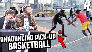 ROASTING PICKUP BASKETBALL PLAYERS NYC PRANK!