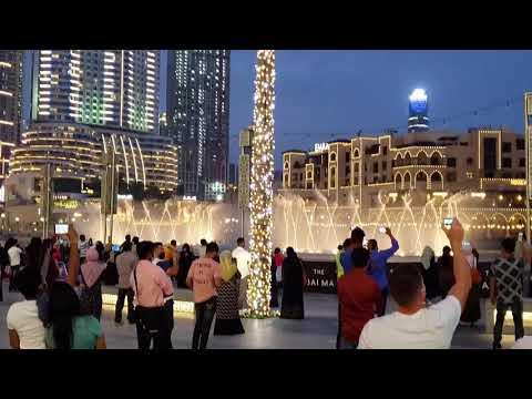 DUBAI FOUNTAIN SHOW | BURJ KHALIFA | LATEST 2021 | DUBAI CITY | DUBAI VLOG