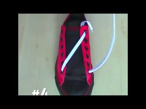 Cara ikatan tali kasut yang betul