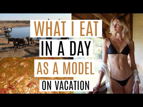 What I Eat In A Day As A Model - Vacation | Balanced Diet, Simple Recipes, & Matcha Recipes | Sanne thumbnail