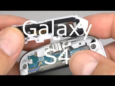 Galaxy S4 Disassembly & Assembly Teardown - Screen & Case Replacement