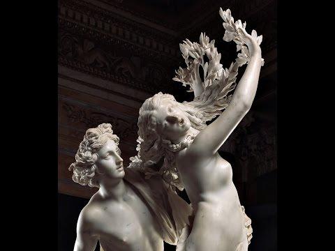 Gian Lorenzo Bernini-Apollo & Dafne-(Galleria Borghese)