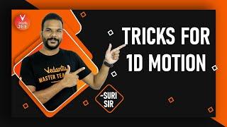 Short Tricks for JËE Physics #2: Kinematics 1D Motion | JEE Main Physics | JEE Advanced Physics