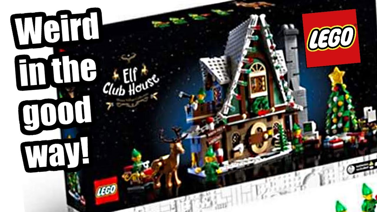 Christmas 2020 Lego LEGO Winter Village 2020 Elf Club House! A strangely FUN addition