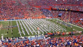 university of florida uf marching band 9 13 14 pre game part 1 of 5