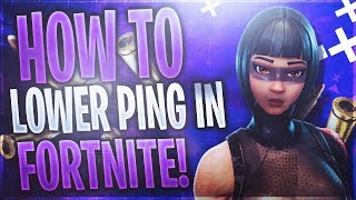 How To Lower PING In Fortnite On Xbox! Works In Season 8!