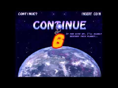 Hyper Dragon Ball Z Continue and Game Over Concept 2