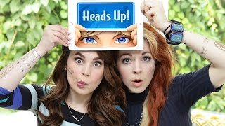 HEADS UP CHALLENGE ft Lindsey Stirling!
