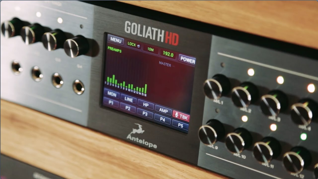 Introducing Goliath HD | Antelope Audio - YouTube