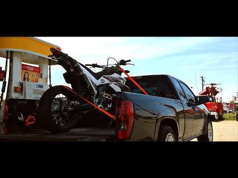 Picking up my first Supermoto - Fond du Lac Wisconsin