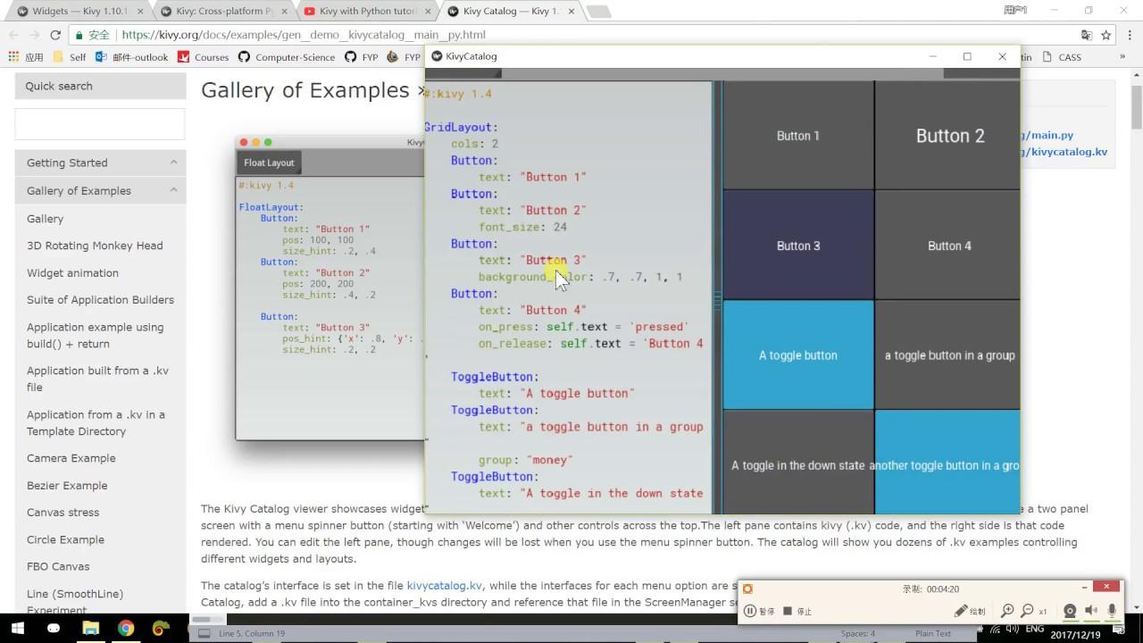Build Simple Desktop GUI program with Kivy 1