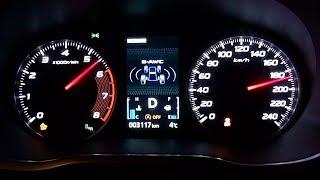 2018 Mitsubishi Eclipse Cross 1.5 MIVEC 163KM CVT 4WD - acceleration 0-180 km/h